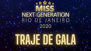 TRAJE DE GALA | MISS NEXT GENERATION RIO DE JANEIRO 2020