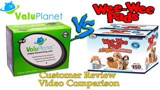 Wee Wee Pads Vs Valuplanet Puppy Pads - Who Makes The Best Puppy Pads?
