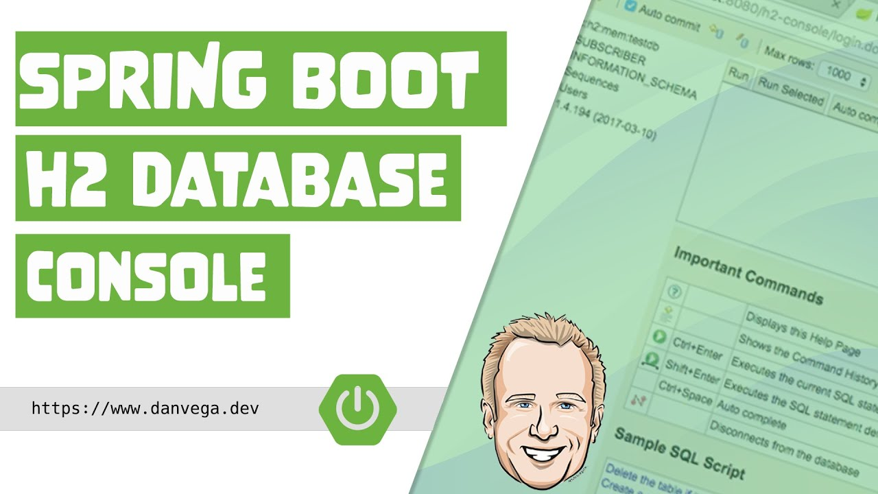 Spring Boot H2 Database Console