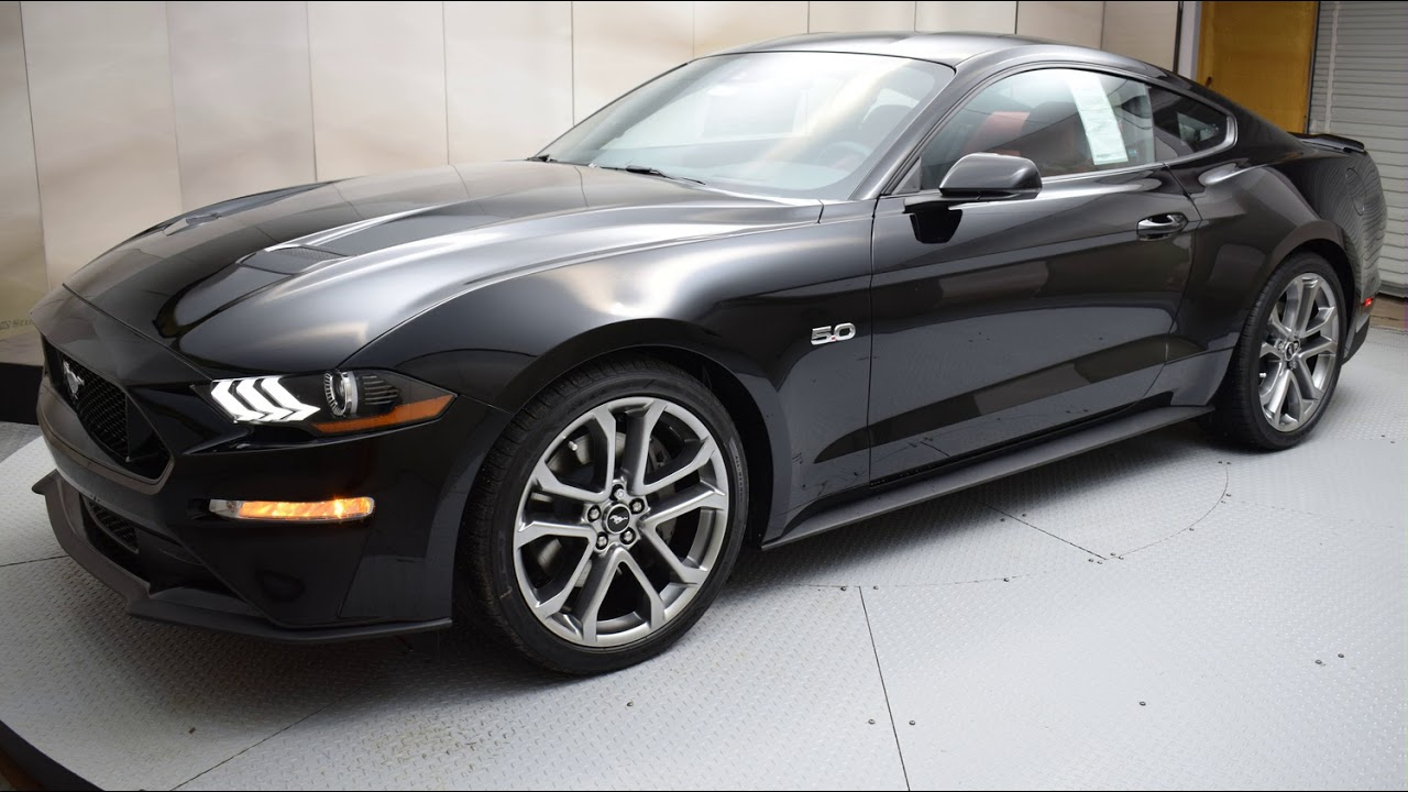 2018 shadow black ford mustang 2d coupe 6914