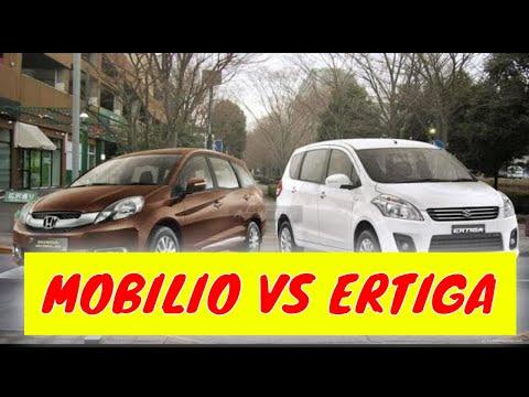 Perbandingan Honda Mobilio Vs Suzuki Ertiga Youtube