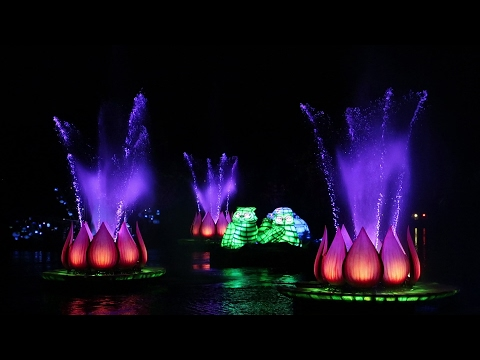 Finally Checking Out Rivers Of Light A Nighttime Spectacular At Disney's Animal Kingdom!!!