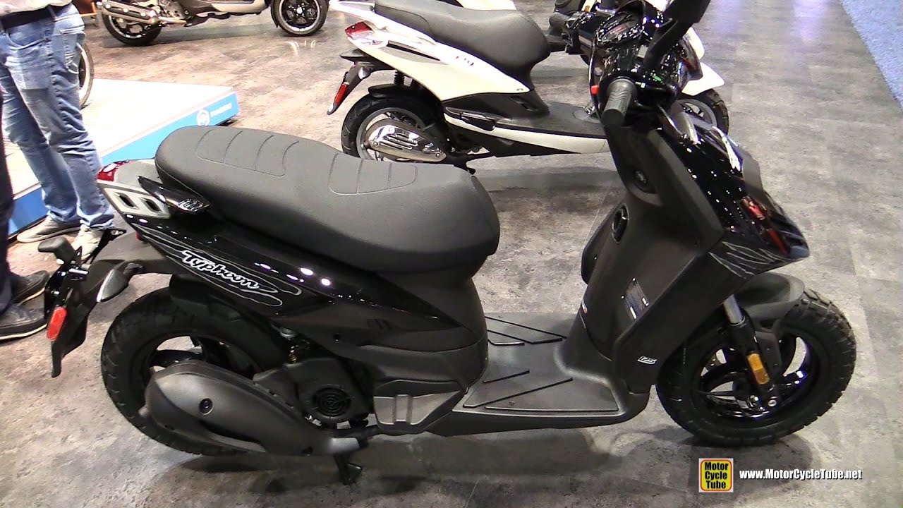 2017 piaggio typhoon 50 scooter walkaround 2016 aimexpo orlando youtube. Black Bedroom Furniture Sets. Home Design Ideas