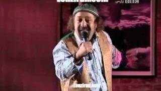 Hadi Khorsandi in specail Nowrooz stand up comedy of BBC Persian TV