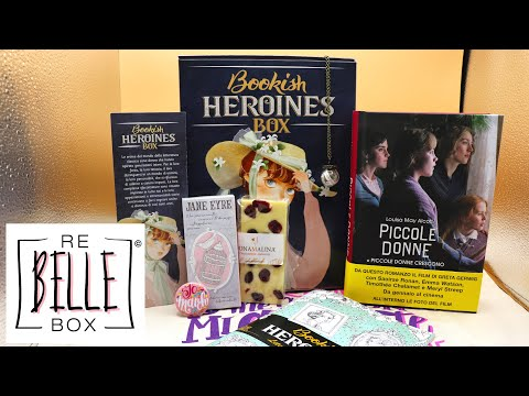 #unboxing-re-belle-box-gennaio- -bookish-heroines