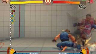 Street Fighter 4 Ryu Plinks 101