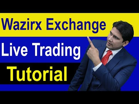 Wazirx p2p Exchange Live Trading Tutorial in Hindi