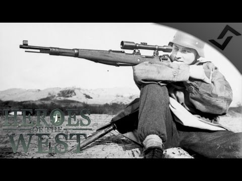 German DDay Sniper G43K98k  Heroes of the West RO2 West Front Mod