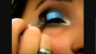 Make up tutorial Azul