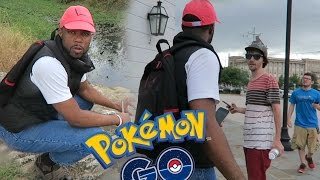 Black Guy Plays POKEMON GO In Real Life With Other Trainers ! HILARIOUS!