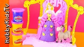 Play-doh Disney Design A Dress Boutique, Princess Rapunzel, Designer [toy Opening] Donkey, Shrek