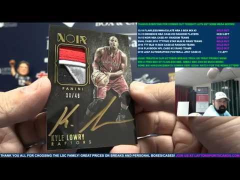 2014-15 Panini Noir Basketball 3 Box Case Break #11