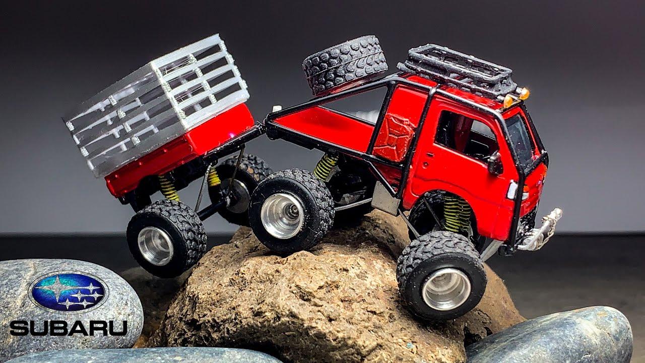 Mini Truck Subaru Sambar Matchbox Custom
