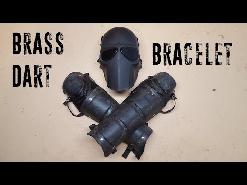 Blaster Exchange: Brass Dart Holder Bracelet