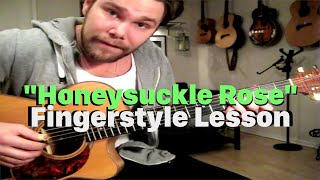 Honeysuckle Rose - Guitar Lesson from Emil