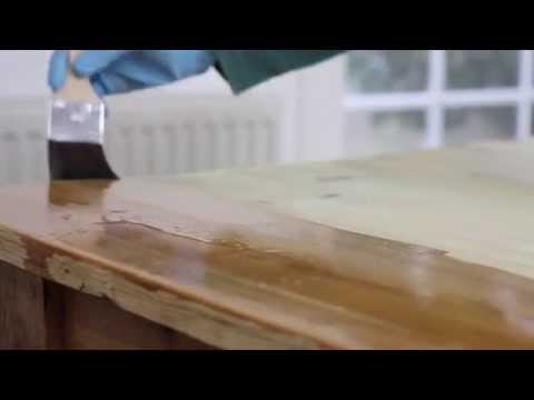 kitchen tops wood kate spade how to seal and protect a wooden worktop or table from rest express youtube