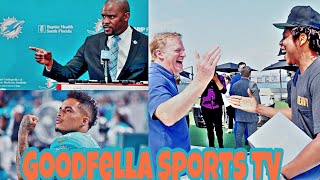 Dolphins HC Brian Flores Plays 8 St8 Jay-Z Songs After Kenny Stills Ripped Jay-Z For Selling Out!!!