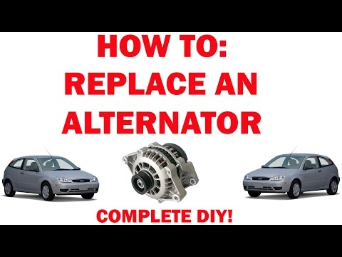 How to Replace an Alternator - (Ford Focus)