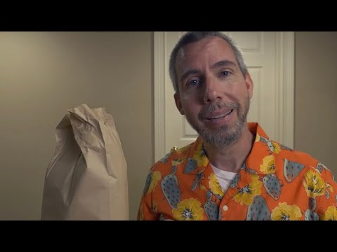 Brown Bag Lunch with a Friend ASMR