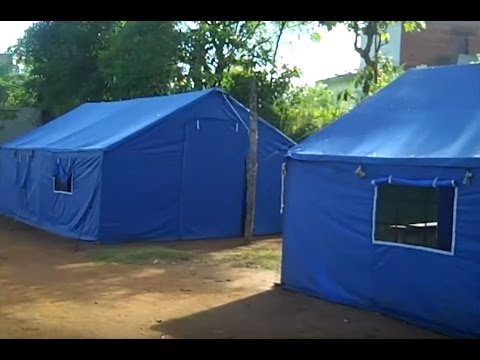 CHOICE Nepal Tents and Furniture Distribution & CHOICE Nepal Tents and Furniture Distribution - YouTube