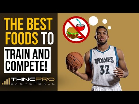 Top 3 Foods for Basketball Nutrition - What to Eat When Training Vertical Jump / Basketball