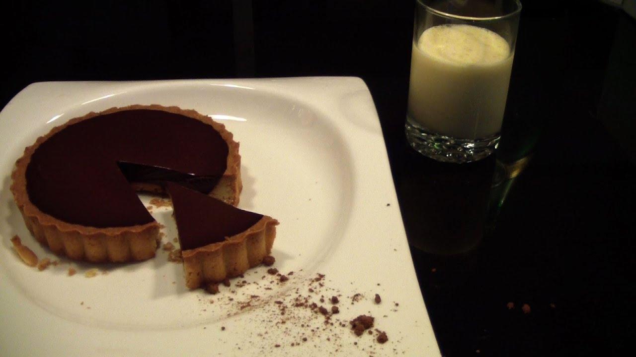 recette tarte au chocolat inratable youtube. Black Bedroom Furniture Sets. Home Design Ideas