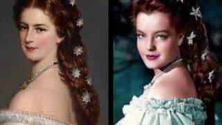 Sissi Elisabeth of Austria vs Romy Schneider (film Sissi)