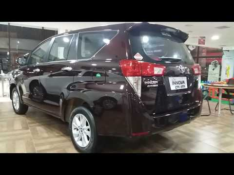 Toyota Innova Garnet Red Exterior and Interior|Complete Touring Vehicle