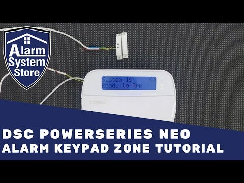 Full DSC Hard-wired Security System PK5501 Keypad PC 1616 Panel RFK5501 KP