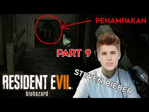 ADA PENAMPAKAN SAMBIL STEVEN BIEBER NYANYI COMPANY - Resident Evil 7 Biohazard Indonesia #9   BLAZE