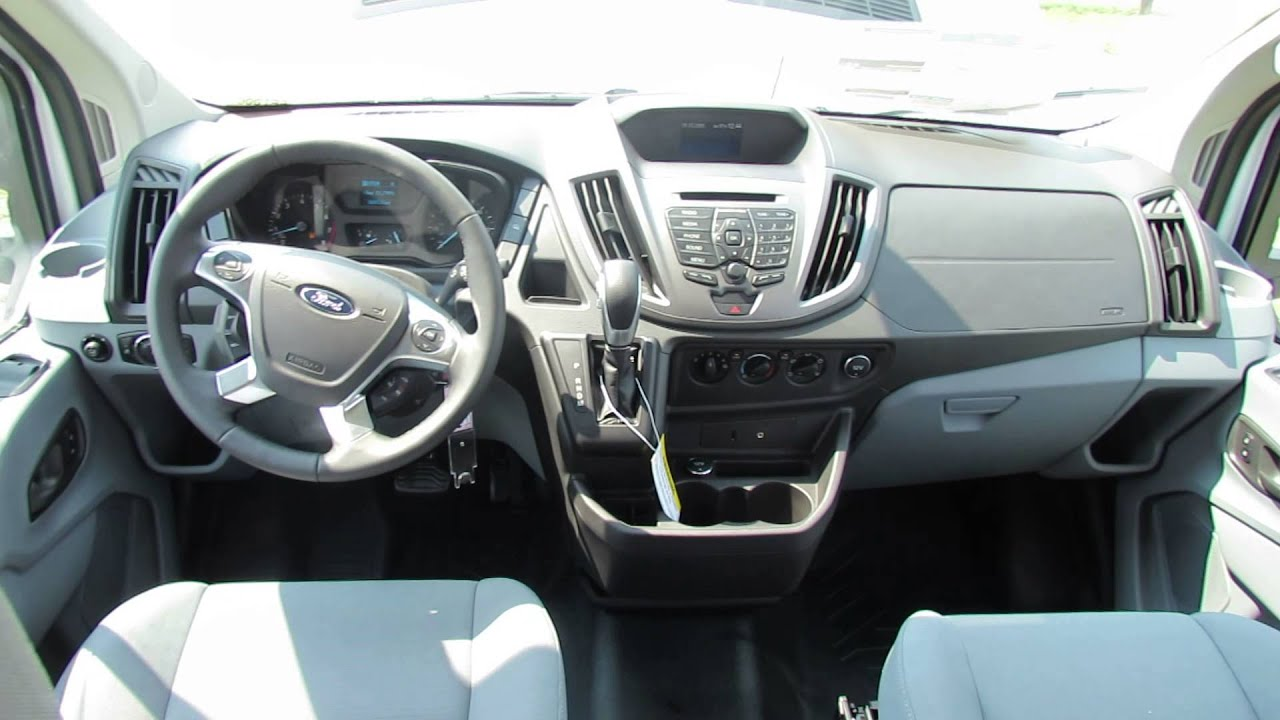 Ford Transit Pikap >> 2015 Ford Transit Van Long Wheelbase Narrated Video NH - YouTube