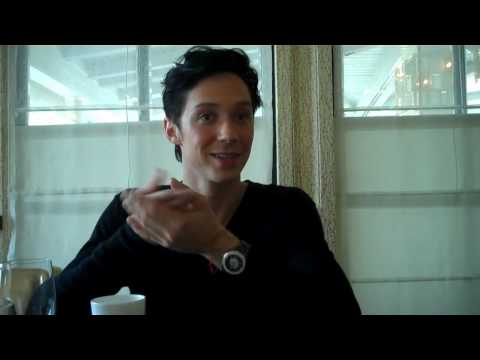 Johnny Weir talks to the L.A. Times about Olympic champion Evan Lysacek.mp4