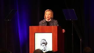 Hillary Clinton gives keynote at Ida B. Wells luncheon