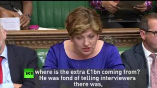 "Thornberry: ""Where's your Magic Money Tree?"""