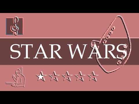 Ocarina Notes Tutorial  Star Wars  Main Title Sheet music