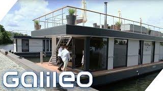 Wohnen 2.0! Die neue Generation der Hausboote | Galileo | ProSieben