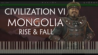 Video Civilization 6 Rise and Fall - Mongolia Medieval Theme(Synthesia Piano Cover) download MP3, 3GP, MP4, WEBM, AVI, FLV Januari 2018