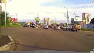 Придурки на дорогах, приколы на дороге 2018 4