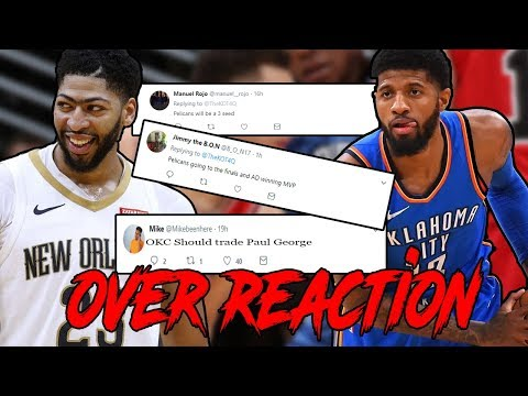 NBA FANS OVERREACTING TO THEIR FAVORITE TEAMS!
