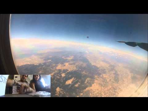Full Flight Time Lapse   From Kalamata to Thessaloniki with Astra Airlines