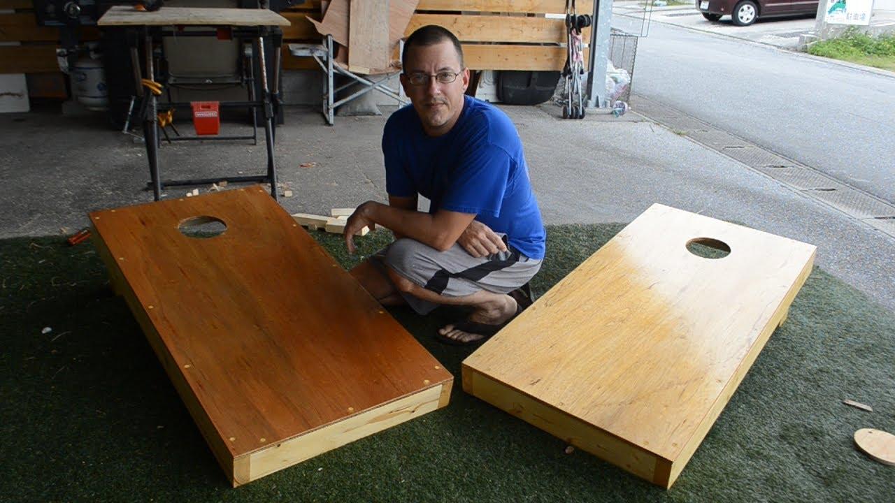 Making Cornhole Boards
