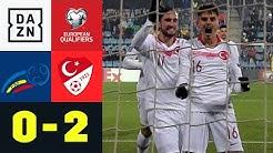 Doppelter Enes Ünal bezwingt tapferen Fußballzwerg: Andorra - Türkei 0:2 | EM-Quali | DAZN