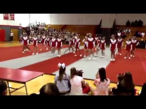 Jr. Lancers  comp cheer 11/22/14 Lakeland Regional High School (Seniors)