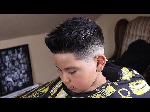 Bald Fade Haircut Kids 70