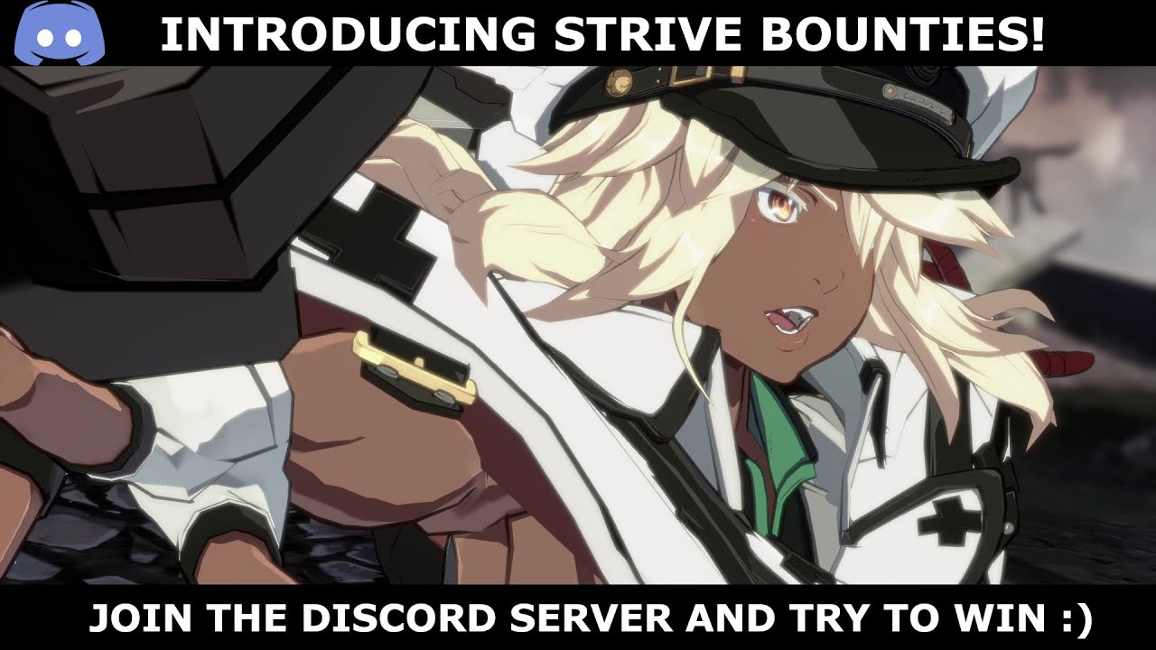(We have a winner already!)Introducing Strive Bounties Discord Competition!   Strive Bounty No.1