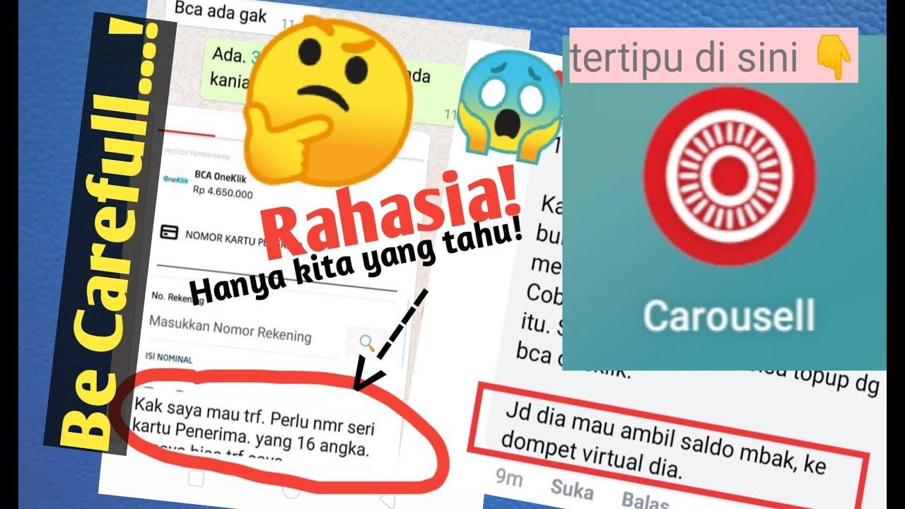 Cara Penipuan Online Menggunakan Bca One Klik Be Carefull