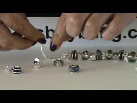 Making The Starry Night Pandora Style Bracelet