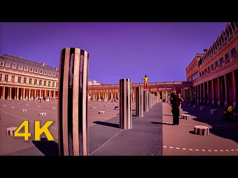 Palais-Royal Paris, Walking tour [4K]