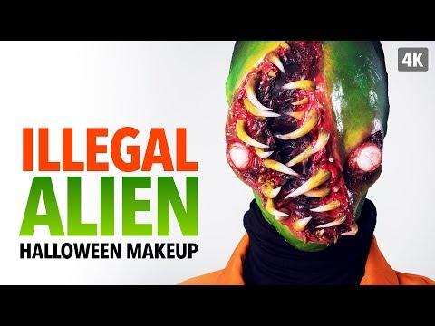 Illegal Alien Halloween Makeup Tutorial