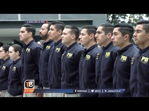 Cinco días en la Escuela de Investigaciones Policiales (PDI) - T13